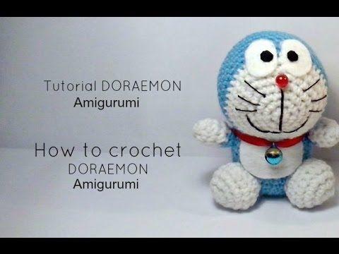 León Amigurumi Tutorial : Tutorial doraemon amigurumi how to crochet doraemon amigurumi