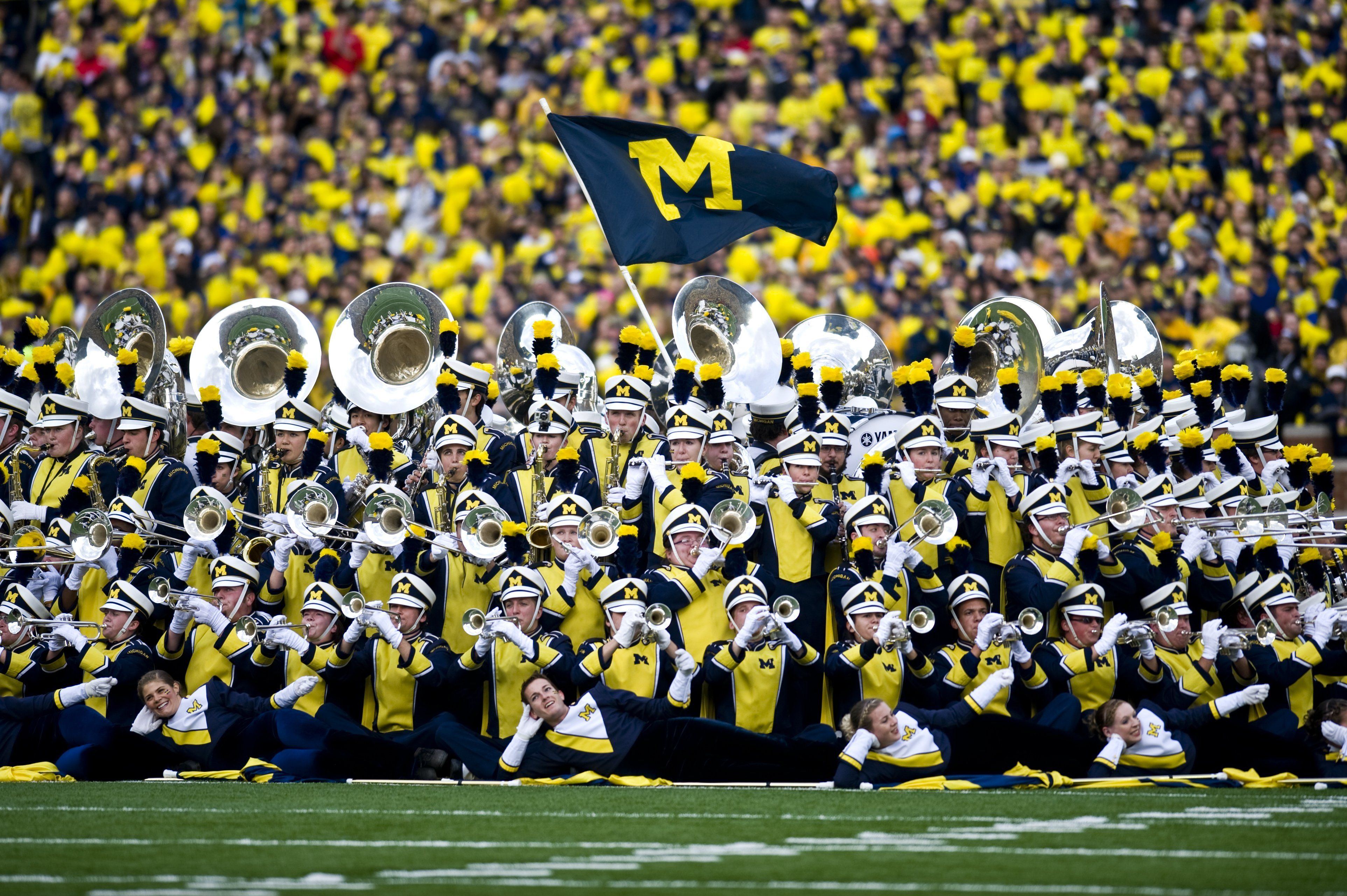 Michigan Marching Band I Spy Myself And A Few Of My Very Close Images, Photos, Reviews