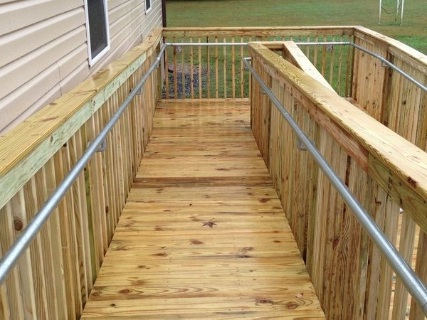 Best How To Add Ada Railing To A Wooden Access Ramp Howto 400 x 300