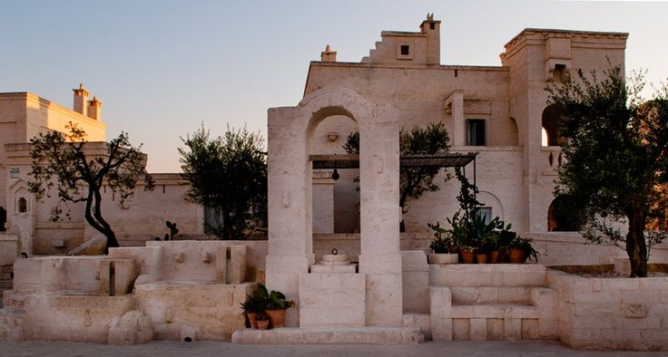 Puglia, Italy Egnazia, countryside resort with