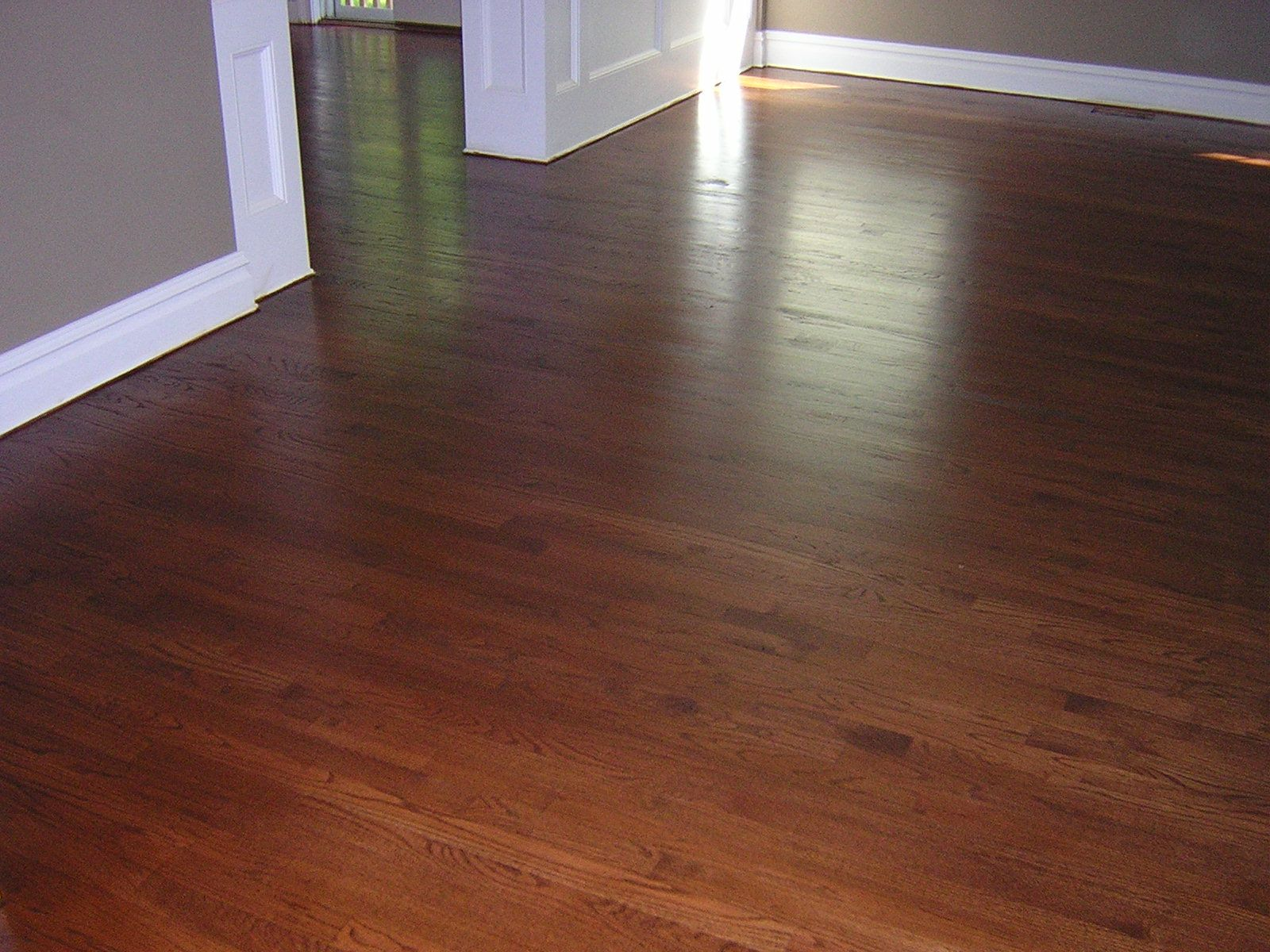 english chestnut stain on white oak stylish floors n