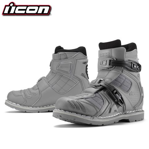 Great biking boots.  Industrial designer, Justin Pyle, recently posted the designs for the new Field Armor 2 Moto Boot from Icon. He and his soft goods design team, JBird Collective, worked on the motorcycle footwear crafting it from a list of materials that sound more like they belong in military gear than in men's footwear (Leather and ballistic nylon chassis, axialmetric steel shank, etc.). The resulting boots are simply futuristic cool. They look well suited to protecting your feet while…