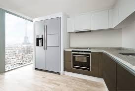 Amerikanischer Kühlschrank : Bildergebnis für küche mit side by side kühlschrank küche