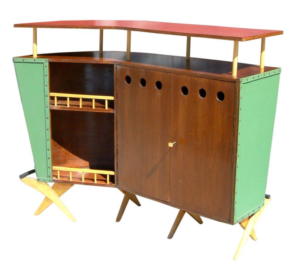 Bar by jose zanine caldas interiores decora o modern for Mobilia anos 50