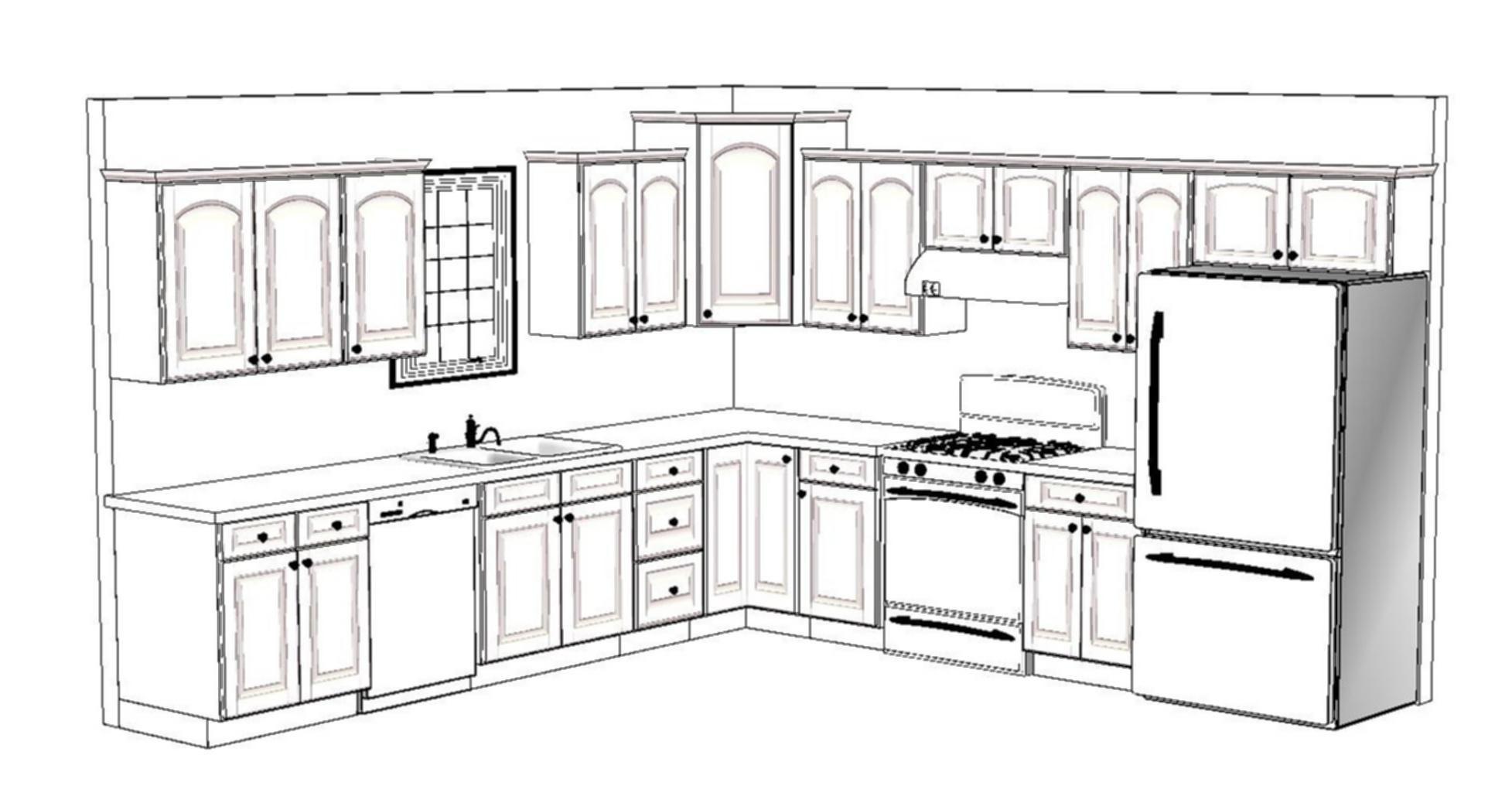 X Kitchen Floor Plan Layout Ki On L Shaped Kitchen Design Ideas To Inspire You 8 X 8 Kitchen Floor Best Kitchen Layout Kitchen Layout Plans Kitchen Floor Plans