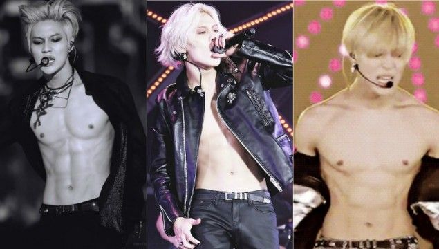 Male artists who can't stop taking off their shirts | allkpop.com