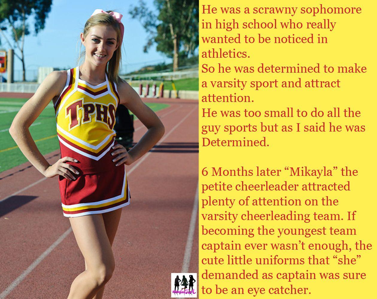 Tg Caption Cheerleader 5