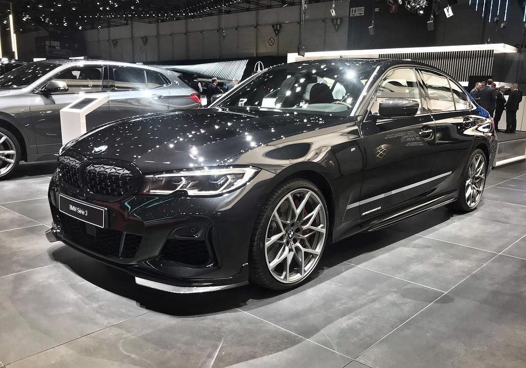 Bmw M340i With M Performance Parts At The 2019 Geneva Motor Show