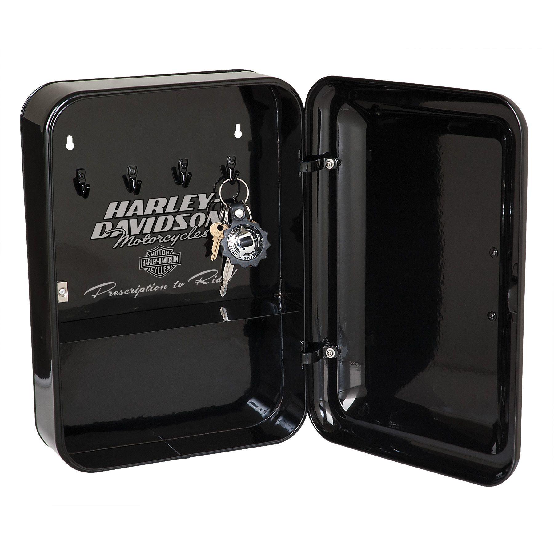Harley Davidson Biker First Aid Key Cabinet Hdl 15104 Key