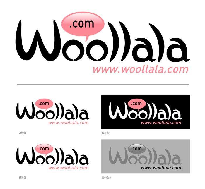 디앤씨산업 울랄라 (woollala) BI 제작 woollala Brand Identity Design. Copyrightⓒ2000-2014 Boians.com designed by Cho Joo Young.