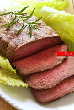 Photo of English roast beef, clumsy proof
