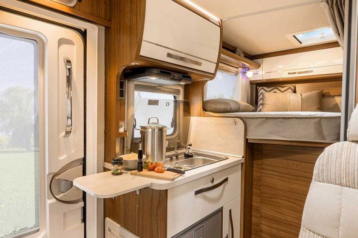 This Hymer Van S Motorhome Packs A Lot In A Small Space | Rv, Rv ...
