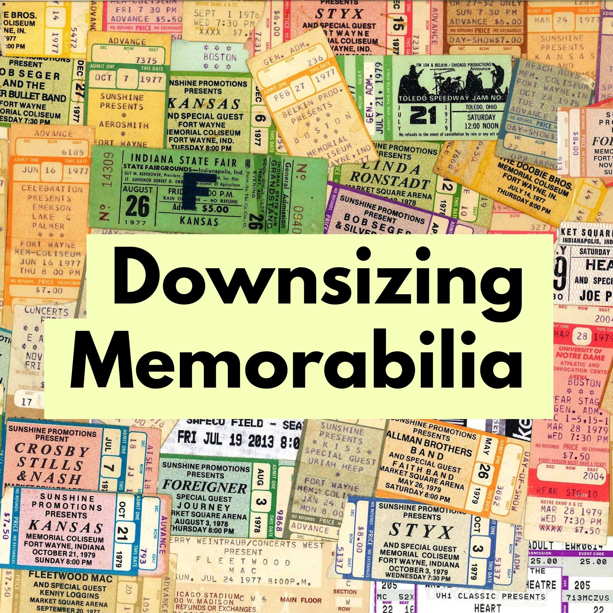 Downsizing Memorabilia Downsizing, Professional