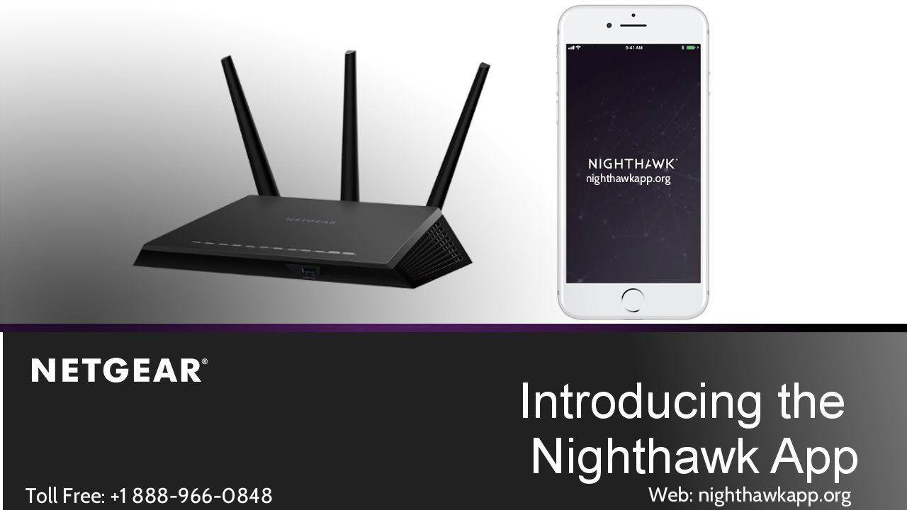 Nighthawk App to Setup Netgear Nighthawk Router Netgear
