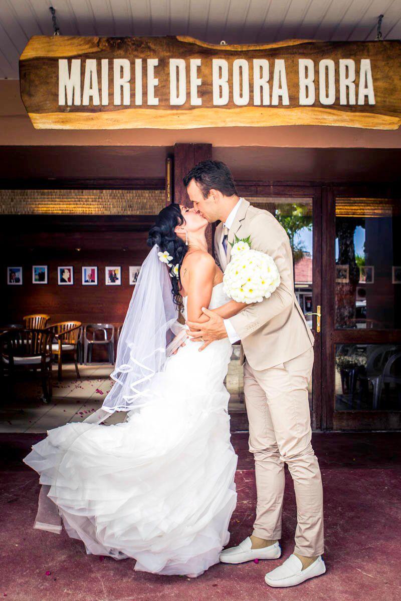 Civil wedding in bora bora bora bora photographer bora