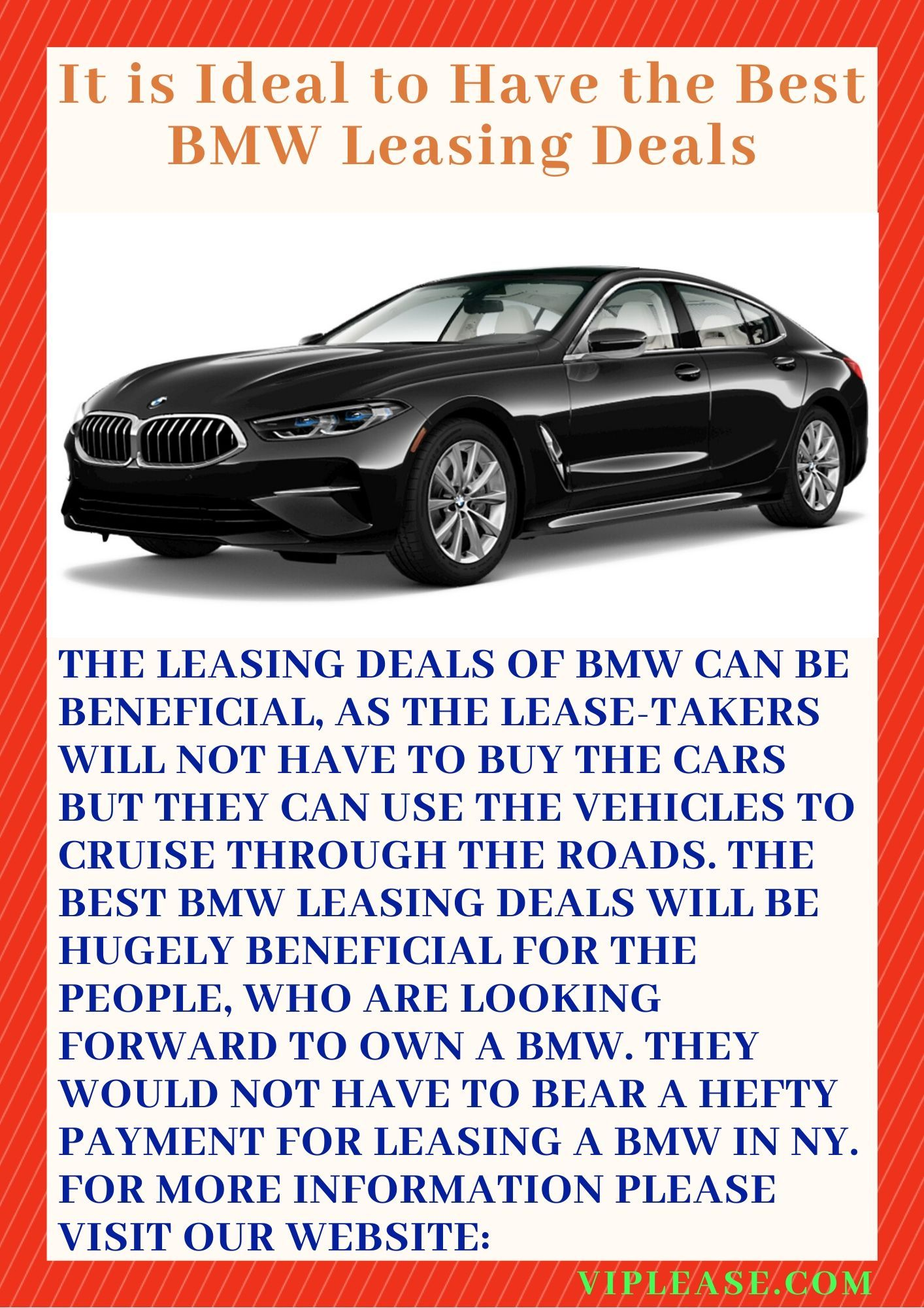 It Is Ideal To Have The Best Bmw Leasing Deals Bmw Best Vehicles