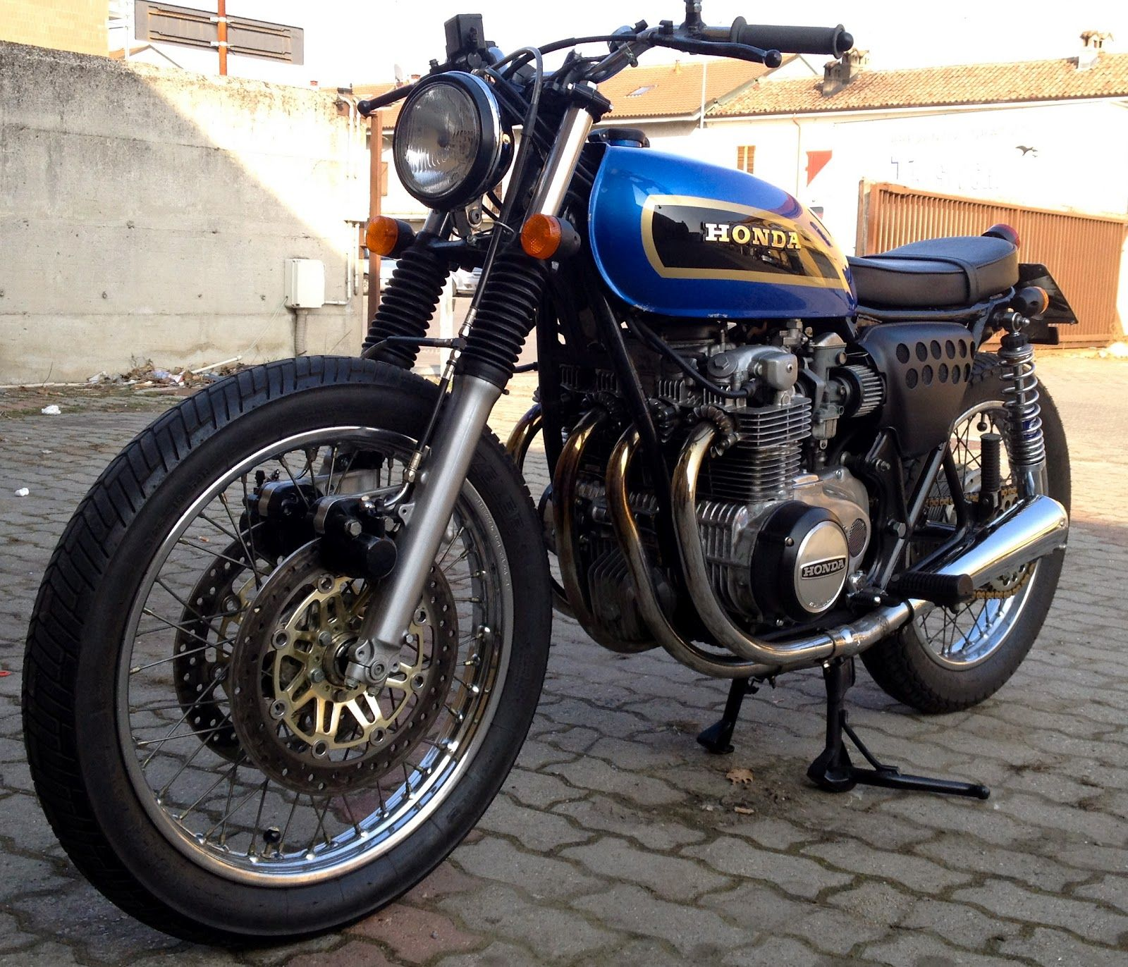 street tracker motorcycles   not much done to this honda cb500