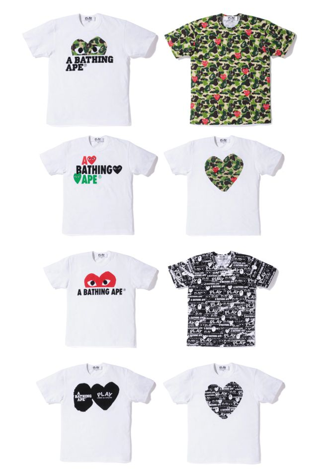8e1e5d2f Shirt styles by Play!! Comme Des Garcons... anne | Fashion Icon ...
