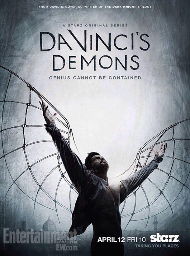 يروي مسلسل ليوناردو قصة الفنان العالمي ليوناردو دافينشي الذي عاش في إيطاليا في القرن الخامس عشر ويضيء عل Da Vinci S Demons Da Vinci S Demons Tv Series 2013