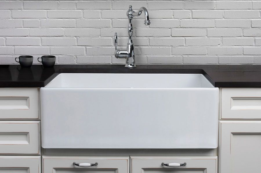 About the right size and price farmhouse sink kitchen