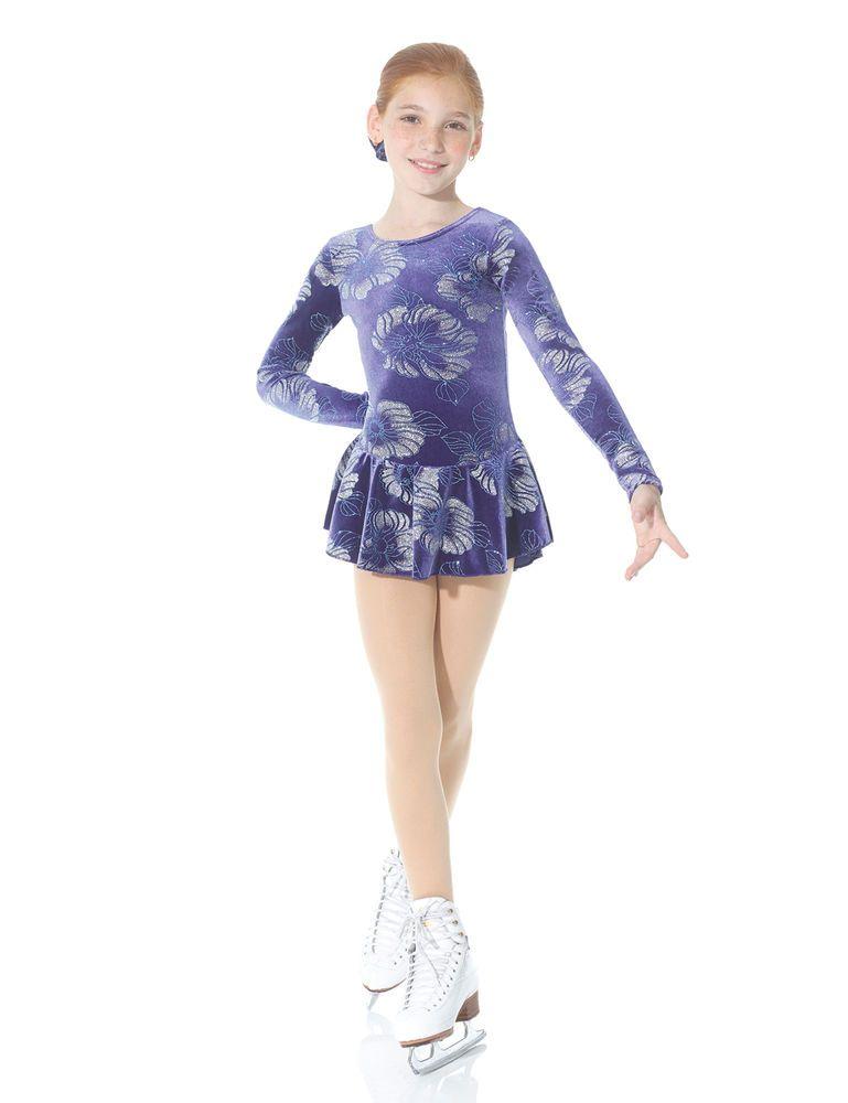 Skating Dresses-girls Poppy Skating Dress Girls