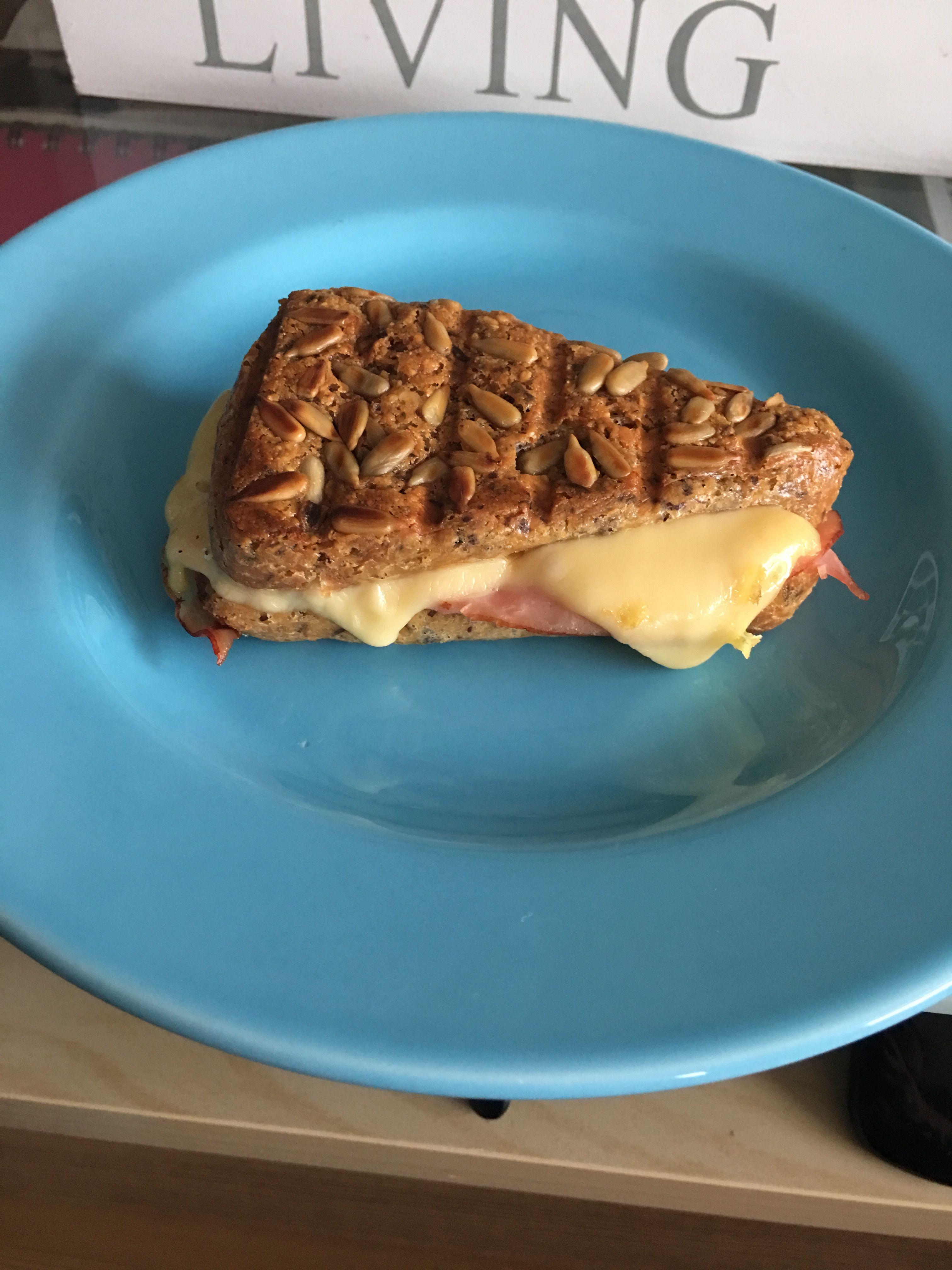 Panini met ham en kaas