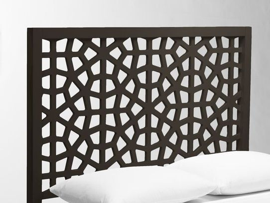 Morocco Headboard-Chocolate / Advanced Geometry / LookNook.co