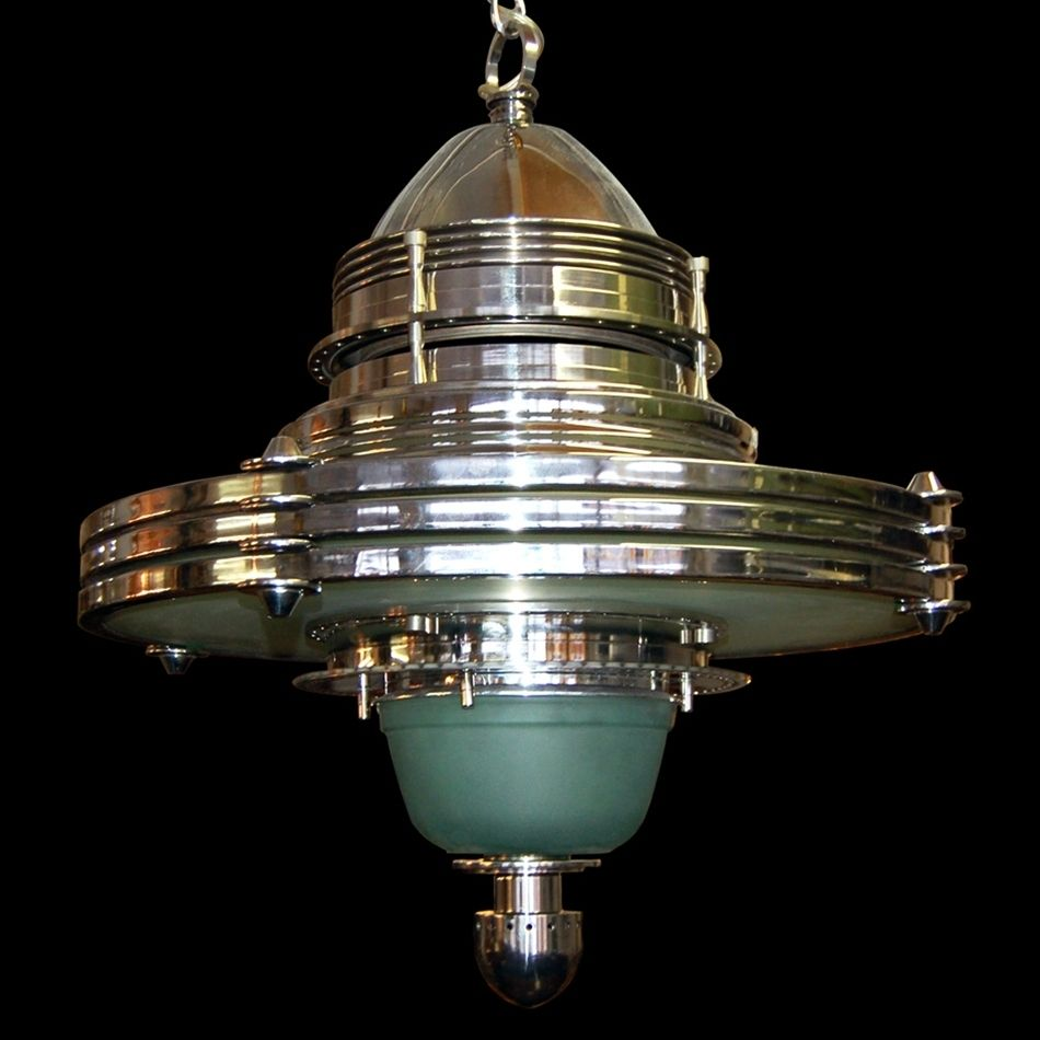 5801 Fabulous Art Deco Machine Age Hanging Lighting Fixture5801 Fabulous Art Deco Machine Age Hanging Lighting Fixture  . Art Deco Lighting Fixtures Chandeliers. Home Design Ideas