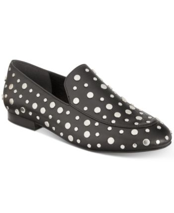 e0f6afb4b23 Kenneth Cole New York Westley Studded Smoking Flats - Black 6.5M in ...
