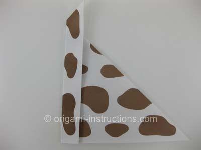 Photo of Origami-Hund Schritt 3