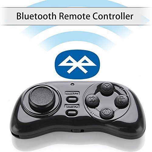 b5729c6a5b2b wireless Bluetooth Gamepad Remote Controller Compatible with 3d Vr Glasses  Google Cardboard Selfie Camera Shutter Wireless Mouse Music Playe