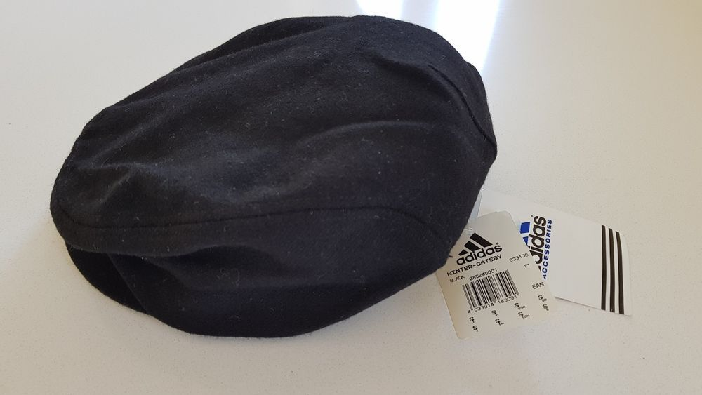 72f1a6375bd Vintage 90 s Adidas Wool Gatsby Cap Hat Newsboy Peaky Blinders BNWT Men s  Small  adidas  FlatCap  Gatsby  Vintage  90 s  Original  Classic  Retro   Authentic ...