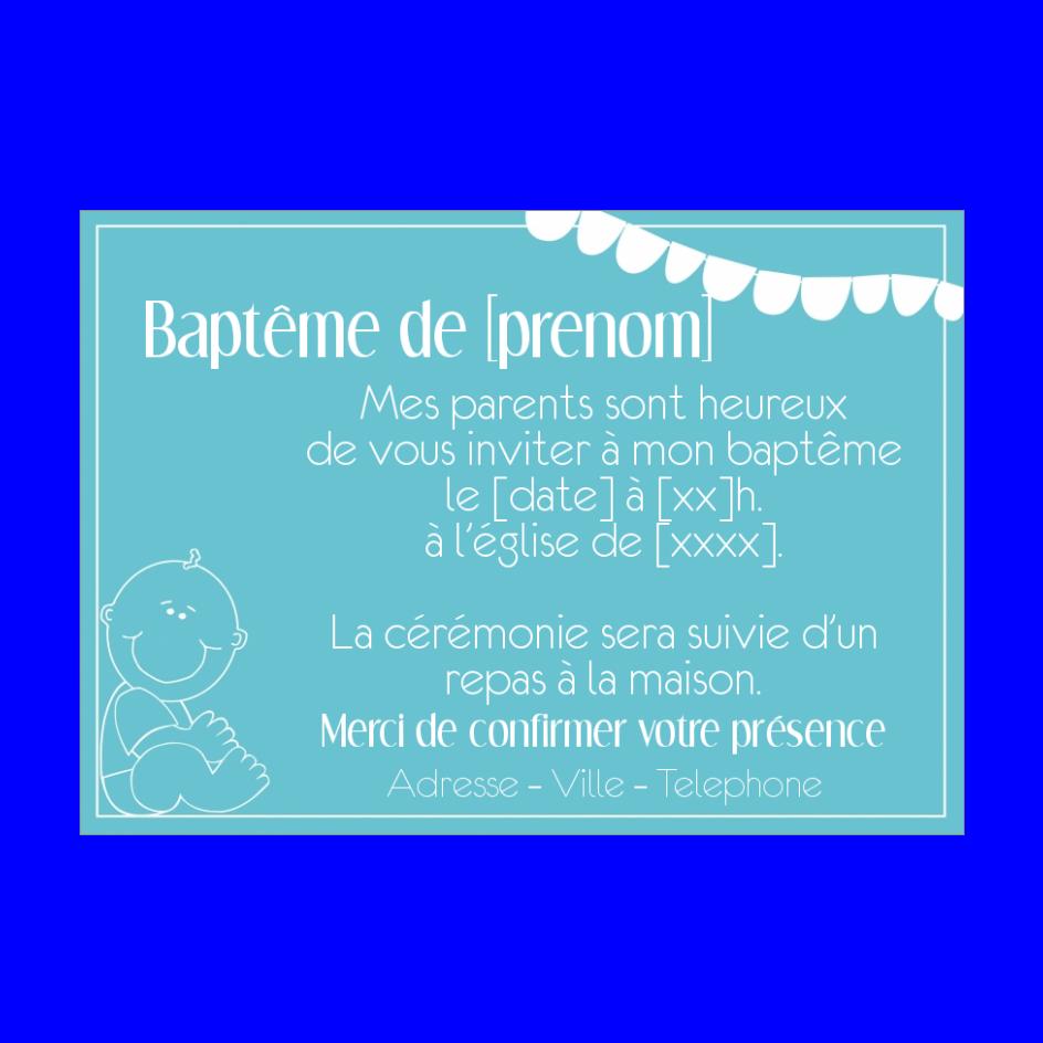 Carte D Invitation Bapteme Bleu A Imprimer Gratuit Carte Invitation Bapteme Faire Part Bapteme Faire Part Bapteme Garcon