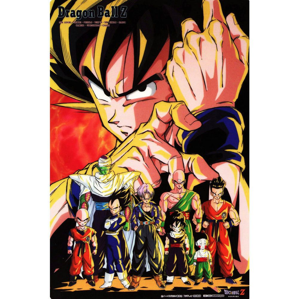 Dragon Ball Super Vegeta Blue vs Goku Blue Art Silk Poster 12x18 24x36
