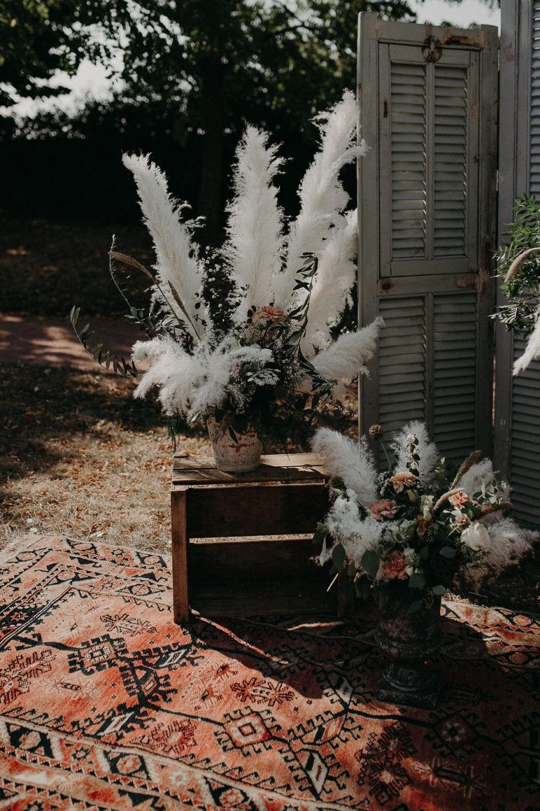 Un mariage bohème au Domaine de La Javernière près de Lyon