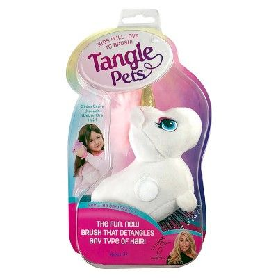 Tangle Pets Is The Hair Must Have That Everyone Is Talking About Ordinary Brushes Have Short Bristles And Painfully Get Unicorn Hair Hair Detangler Hair Brush