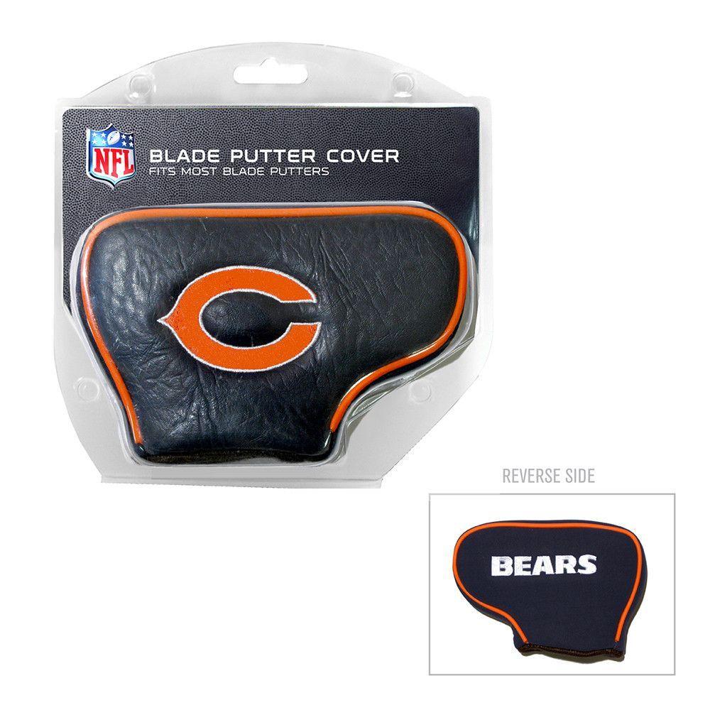 Chicago bears nfl putter cover blade team golf golf