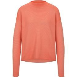 Photo of Tom Tailor Damen strukturierter Strickpullover, orange, Gr.L Tom TailorTom Tailor