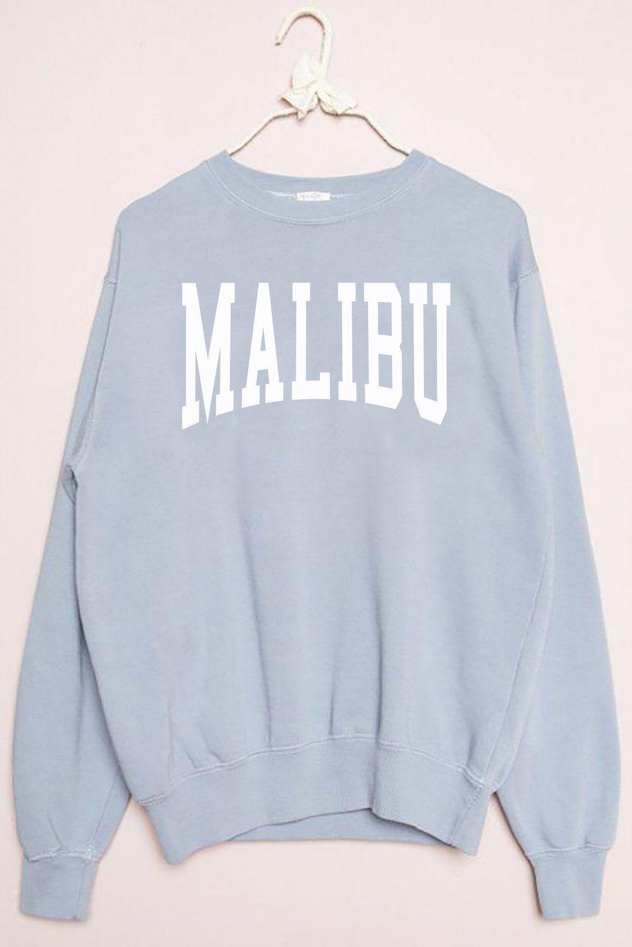 Malibu Sweatshirt Sweatshirt Oversized Sweatshirt Outfit Sweatshirts Sweatshirt Outfit [ 1348 x 900 Pixel ]