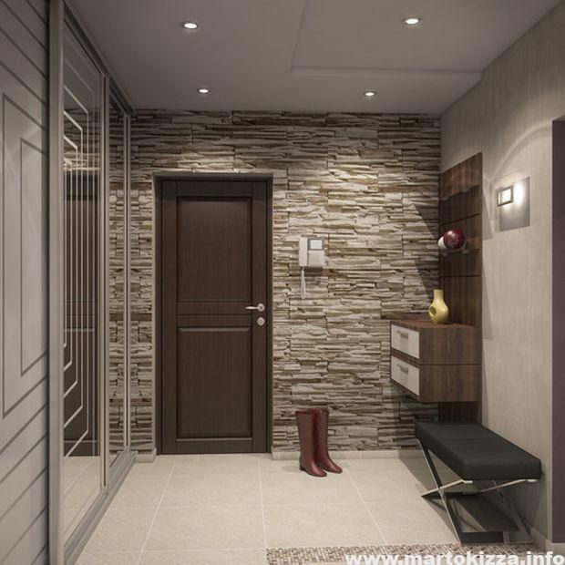 Interior Design Of The Corridor In The Apartment A Photo Drawing Room Decor Home Design Decor Foyer Design