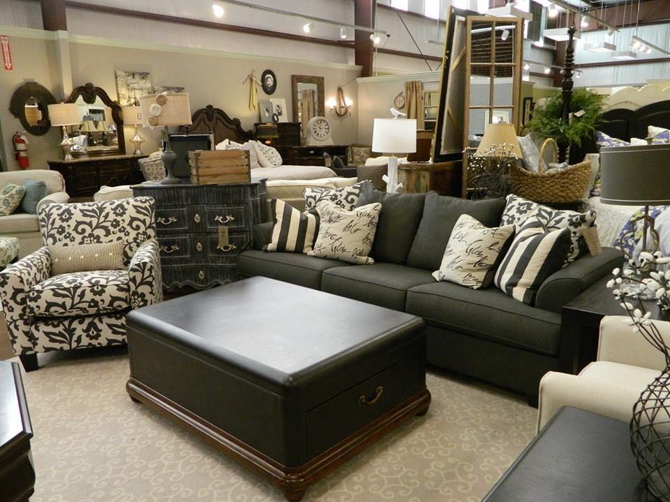 Delightful Levon Charcoal Sofa @ Alabama Furniture Market In Calera, AL.