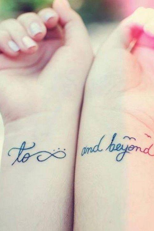Best Friend Tattoo Ideas 2016 Pinteres - Tatuajes-de-frases-de-amistad