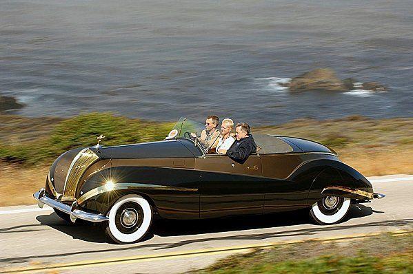 1939 Rolls Royce Phantom Iii Vutotal Cabriolet By Labourdette