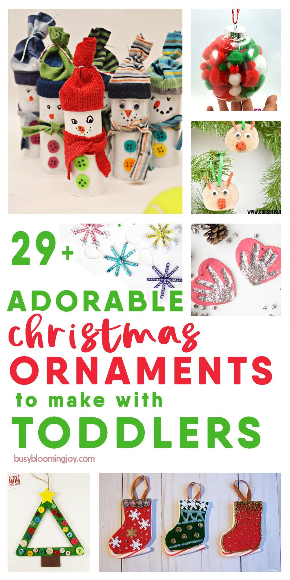 39 Adorable Christmas Ornaments For Kids To Make Or Help With Diy Christmas Ornaments Easy Christmas Ornaments To Make Christmas Tree Ornaments To Make