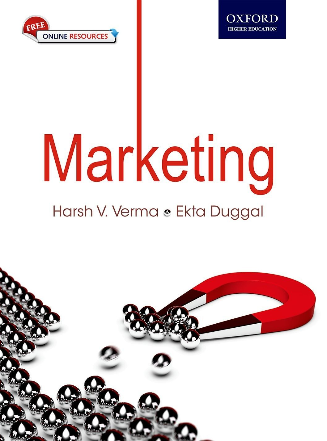 Check out our New Product  Marketing COD  AUTHOR: Harsh V. Verma and Ekta DuggalPublication date: 06.07.2015  Rs.425