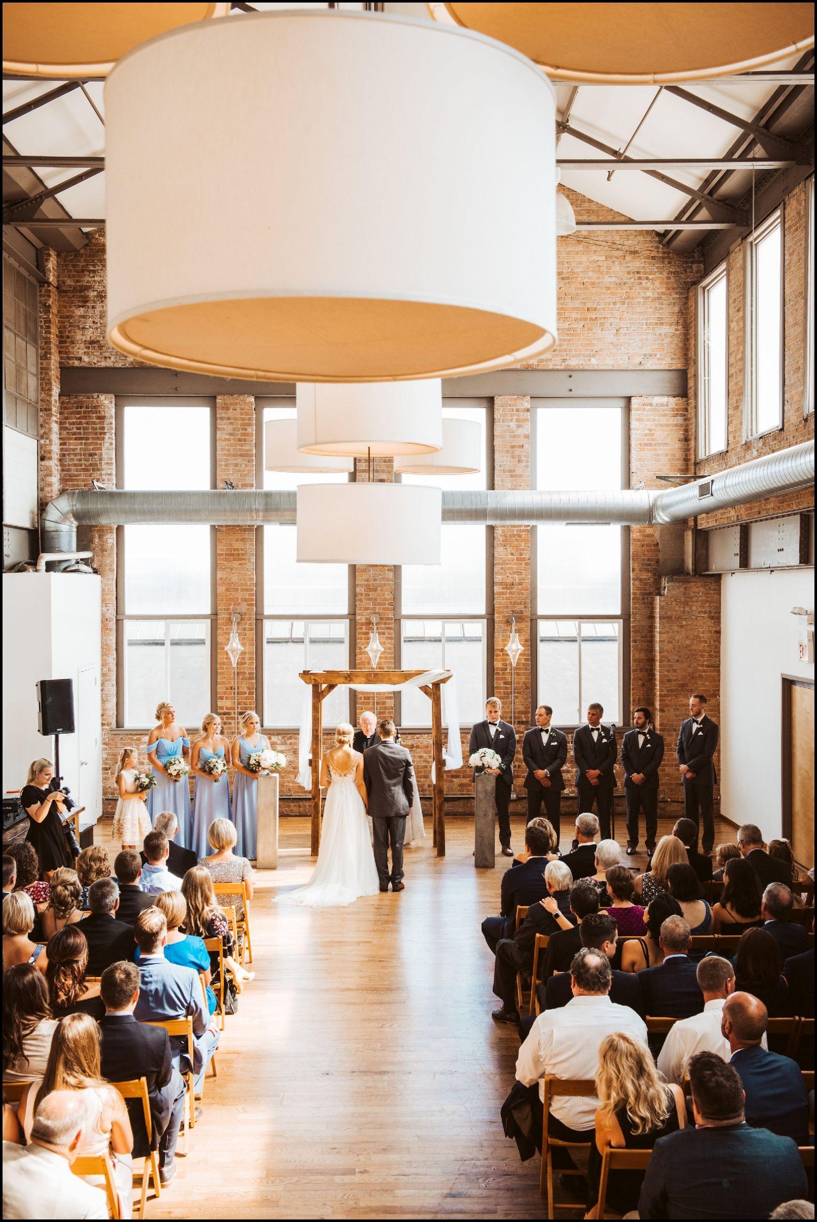 Chicago Wedding Planner Chicago Wedding Industrial Wedding Ceremony Wedding Locations