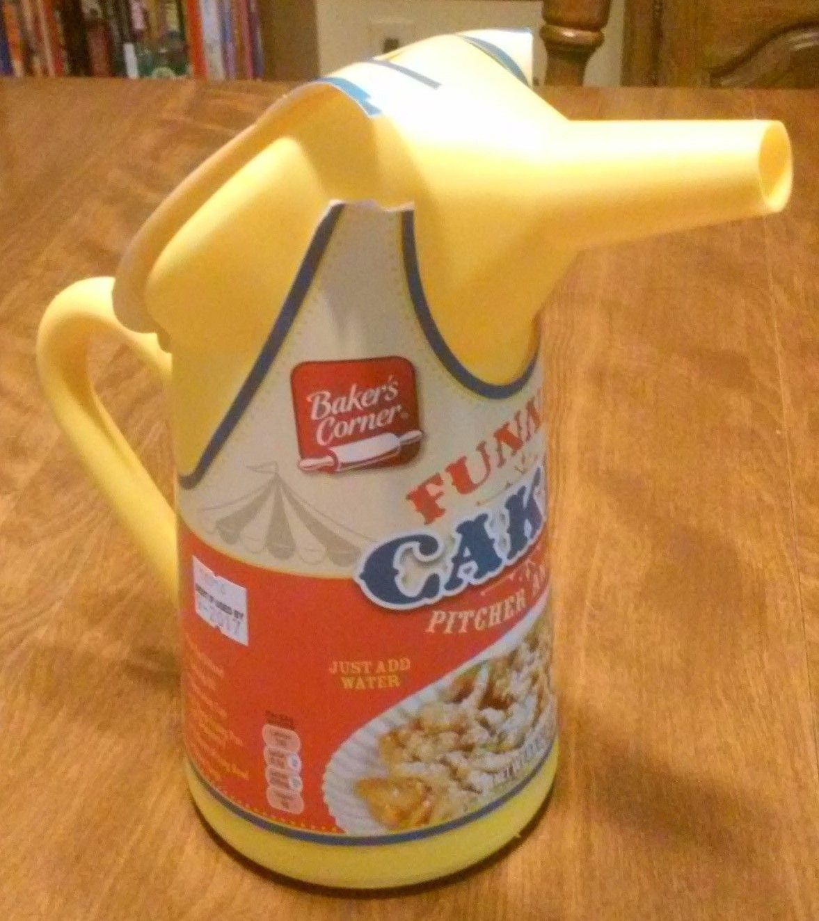 Bakers corner funnel cakes pitcher and mix aldi