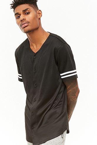 e062cf58b Varsity-Stripe Baseball Jersey | Products | Baseball boys, Mens tops ...