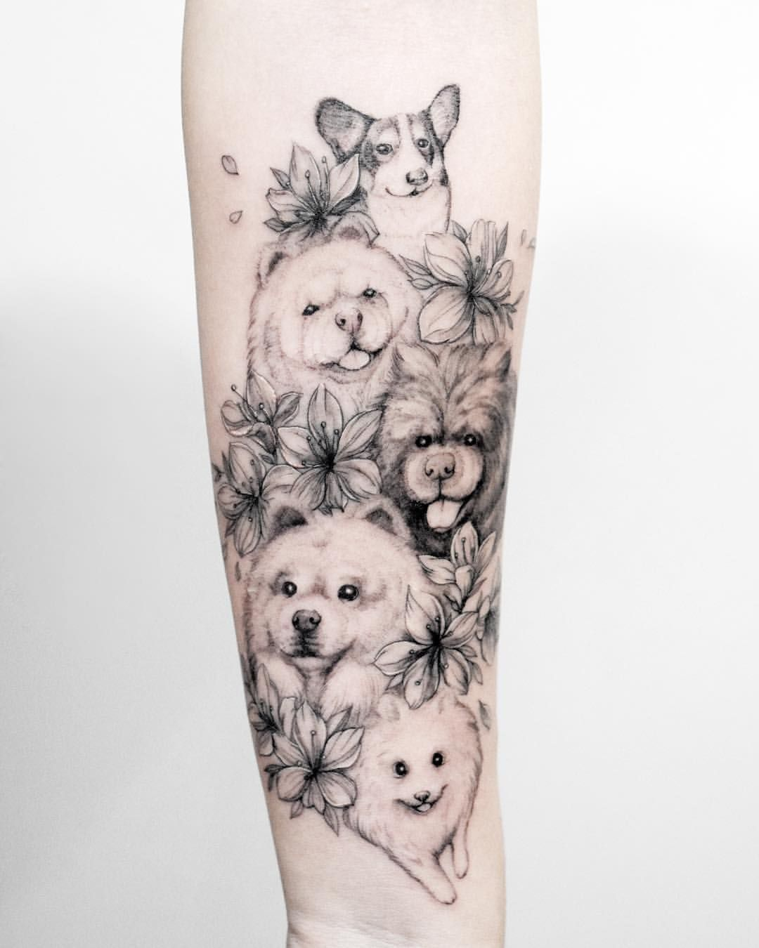 Tattoos In 2020 Hundeportrait Tattoo Gesichtstattoos Hund Tattoo Ideen