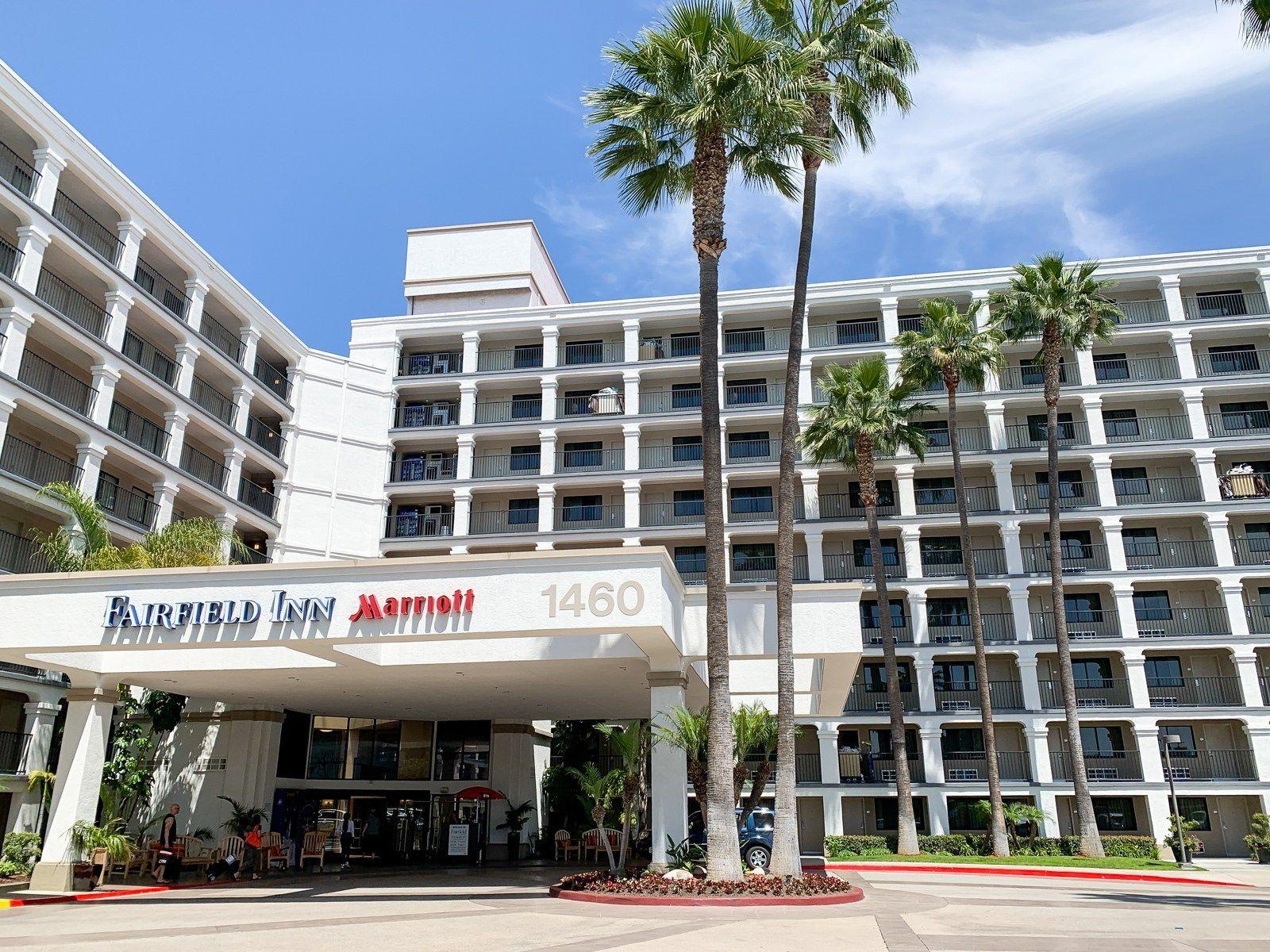 Disneyland S Affordable Neighbor A Review Of Fairfield Inn By Marriott Anaheim Resort The Points Guy Fairfield Inn Fairfield Hotel Disneyland Hotel